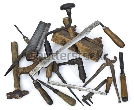 Carpenter tools Stock photo © Suljo