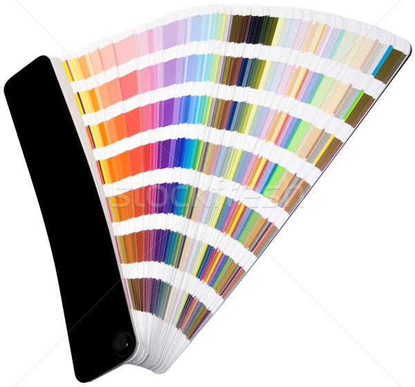 Color scale cutout Stock photo © Suljo