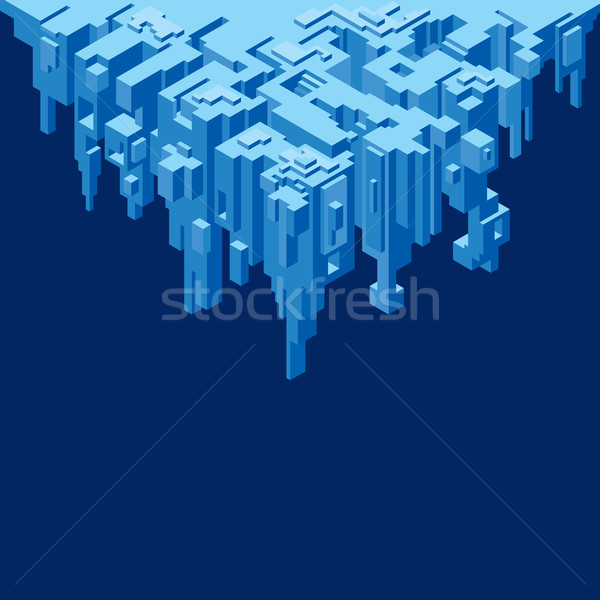 Stock photo: Abstract Precipice Vector