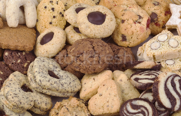 Small Butter Cookies Stock photo © Suljo