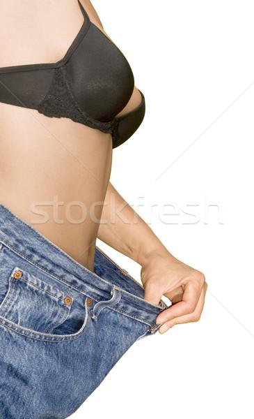 Weight Loss Cutout Stock photo © Suljo
