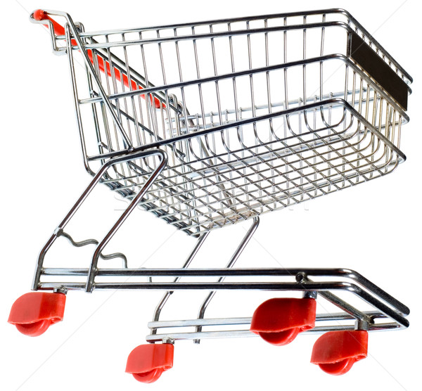 Supermarket Pushcart Cutout Stock photo © Suljo