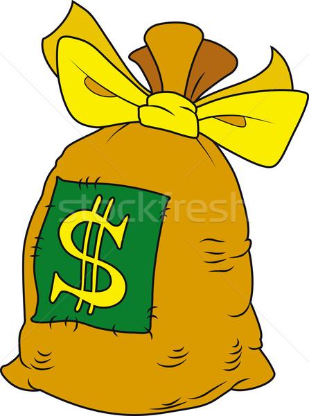 Money bag Stock photo © Suljo