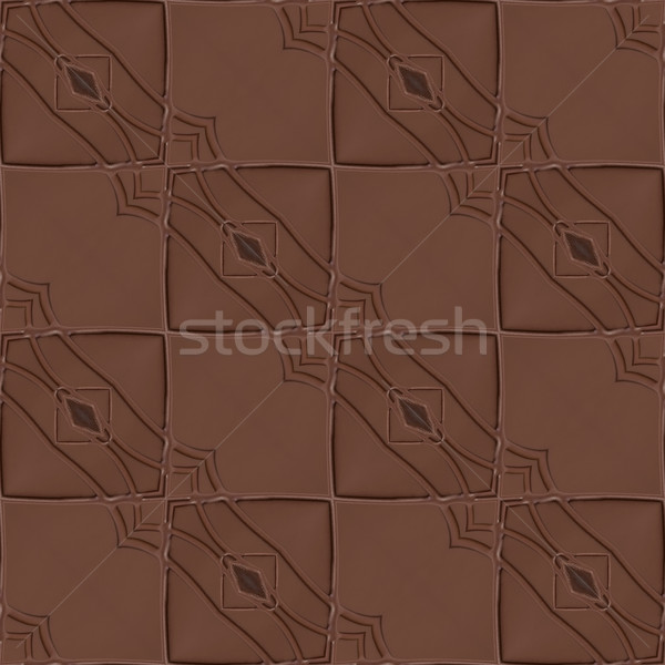 Chocolate Seamless Background Stock photo © Suljo