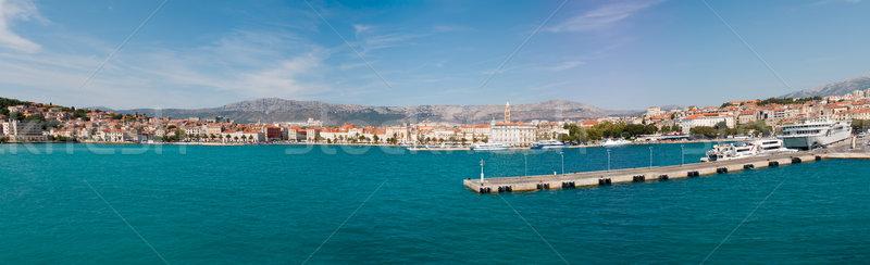 Split panorama Stock photo © Suljo