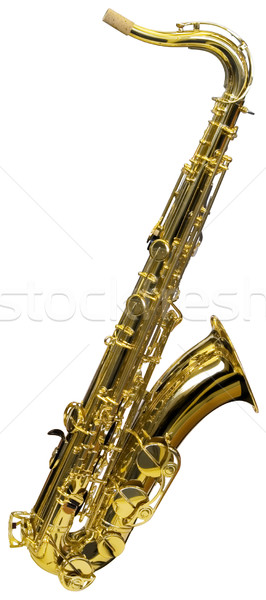 Cutout of Saxophone Stock photo © Suljo