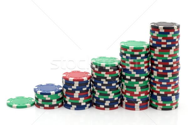 Gambling Tokens Stock photo © Suljo