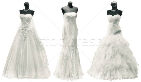 Stock photo: Wedding Dresses Cutout