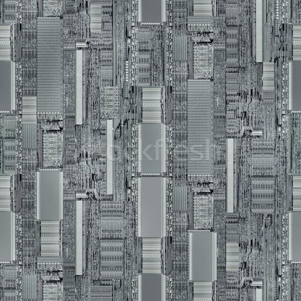 CPU Seamless Background Stock photo © Suljo