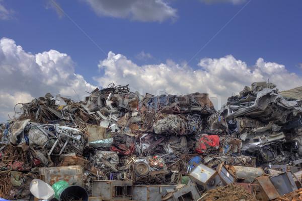 Foto d'archivio: Metal · riciclaggio · ferro · greggio · materiali