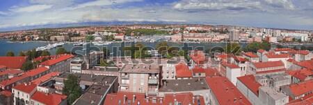 Zadar Town Panorama Stock photo © Suljo