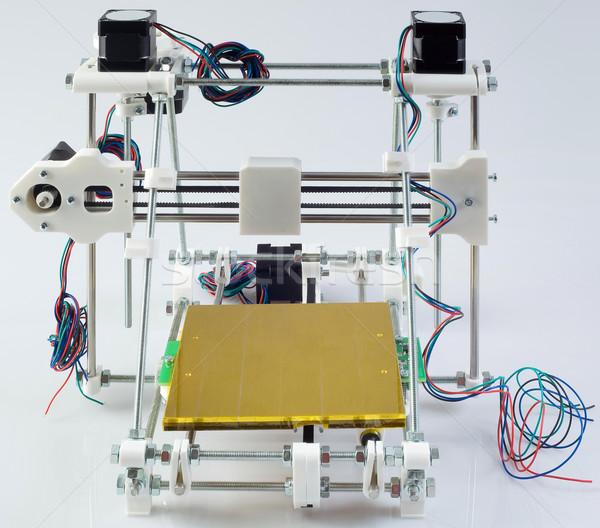 3D Printer Assembly Stock photo © Suljo