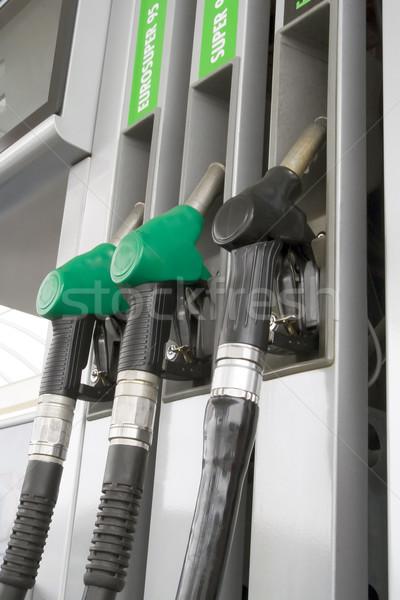 Gas station Stock photo © Suljo
