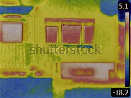 Facade Thermal Image Stock photo © Suljo