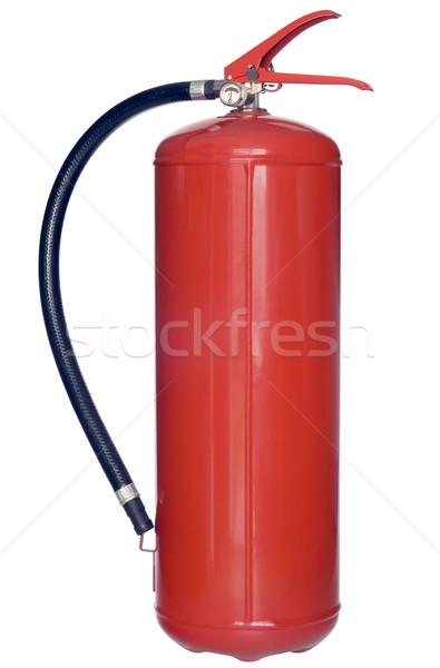 огнетушитель изолированный белый красный химического инструментом Сток-фото © Suljo