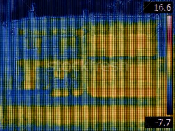 住宅 赤外 画像 建物 計 表示 ストックフォト © Suljo