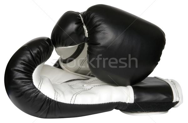 Boxing gloves Stock photo © Suljo