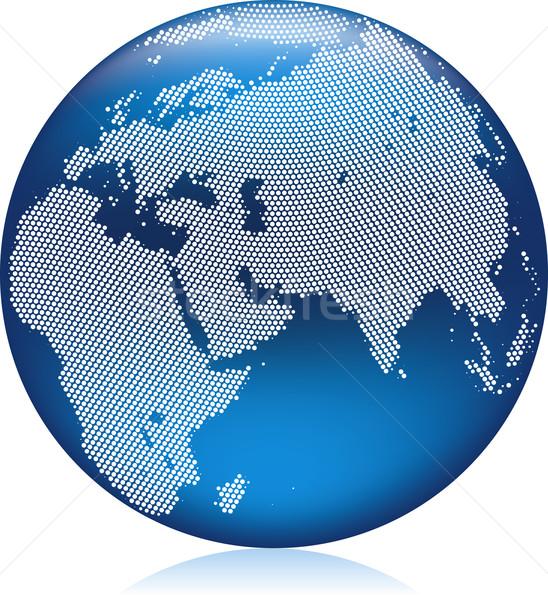 Blue globe Stock photo © Suljo
