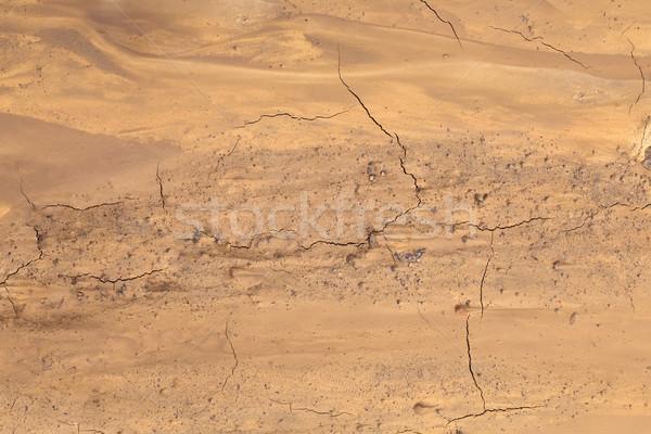 Sár föld hamisítvány föld légifelvétel terep Stock fotó © Suljo