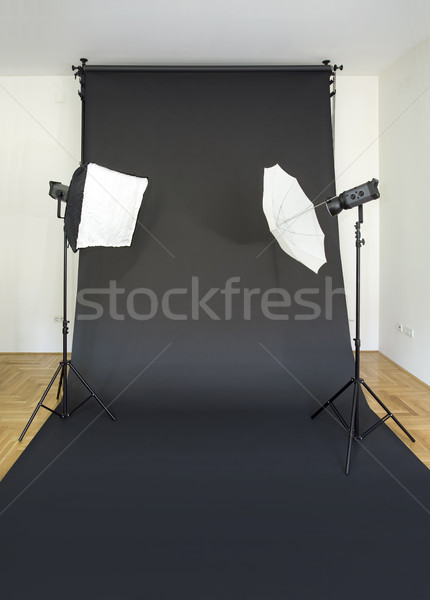 Empty Photo Studio Stock photo © Suljo