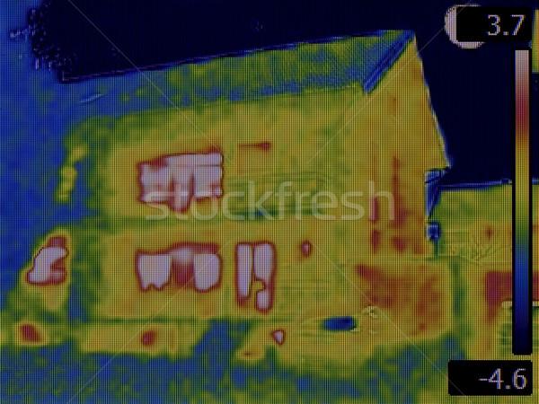 Heat Loss Detection Stock photo © Suljo