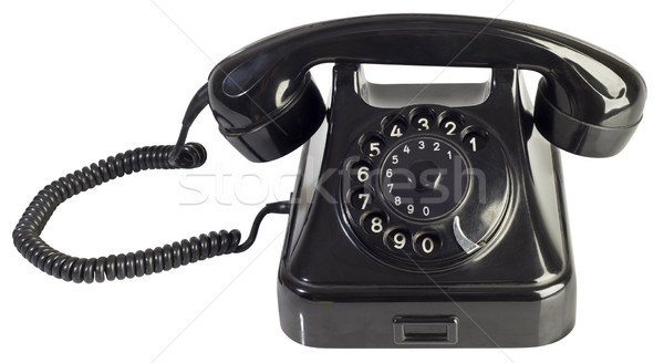 Rotary Phone Cutout Stock photo © Suljo