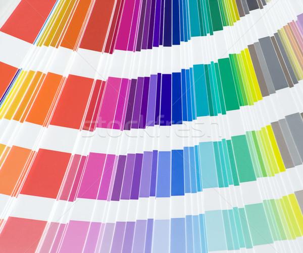 Сток-фото: цвета · масштаба · книга · радуга · службе