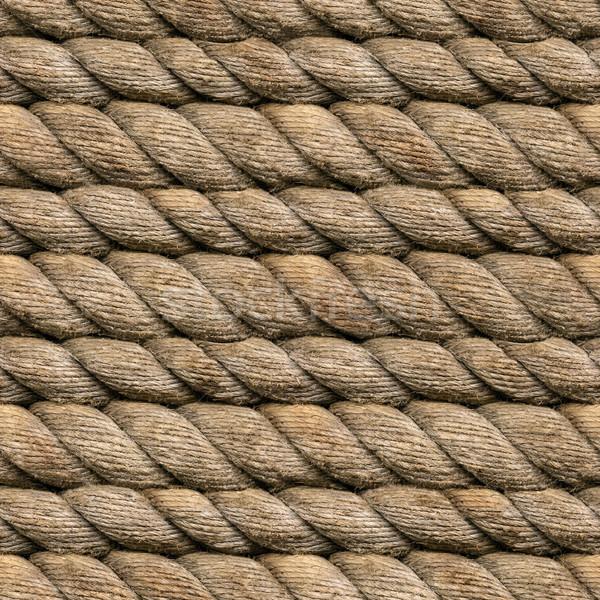 Hemp Rope Seamless Stock photo © Suljo