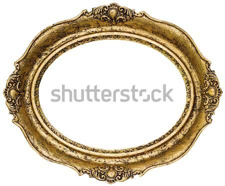 Golden Picture Frame Stock photo © Suljo