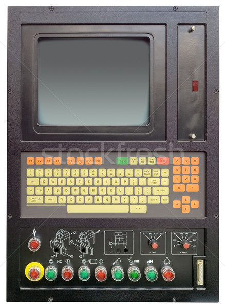 Modular industrial numerical machine Stock photo © Suljo