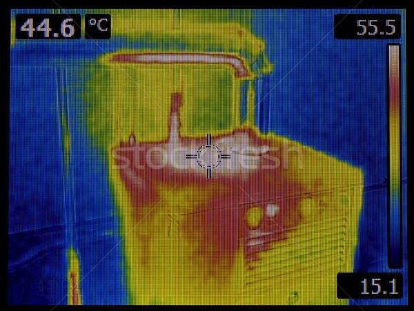 熱 画像 セントラル 加熱 ファーネス 赤外 ストックフォト © Suljo