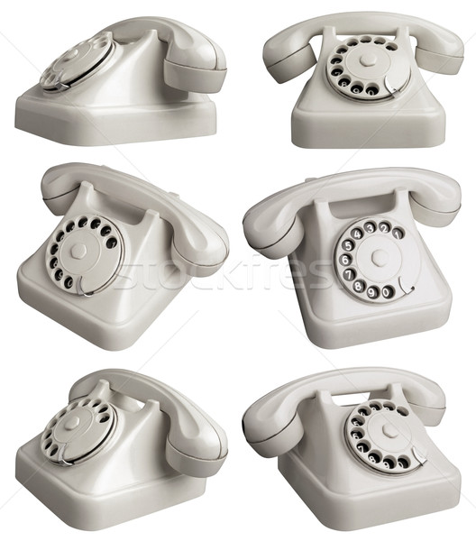 TelephoneOne Stock photo © Suljo