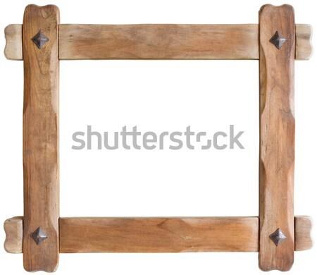 Wooden Frame Stock photo © Suljo