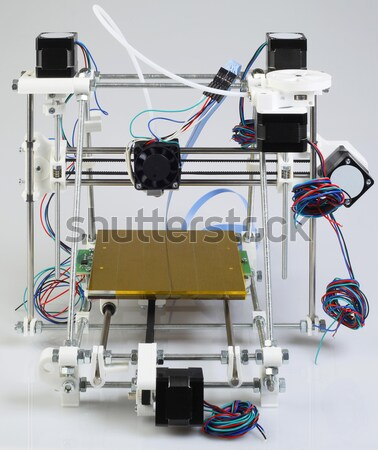 3D Printer Assembly Stock photo © Suljo