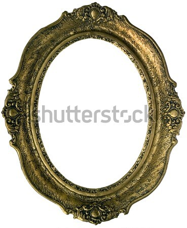 Golden frame Stock photo © Suljo