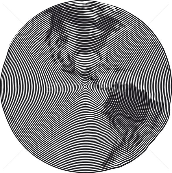 Guilloche Earth Uzumaki Stock photo © Suljo