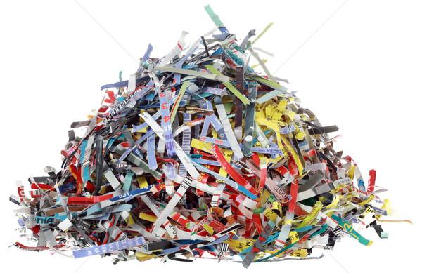 Paper Scraps Cutout Stock photo © Suljo