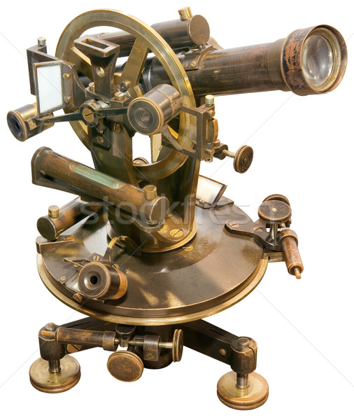 Old  Theodolite Cutout Stock photo © Suljo