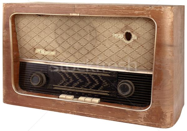 Wooden Tuner Cutout Stock photo © Suljo
