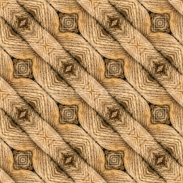 Doormat Seamless Texture Stock photo © Suljo