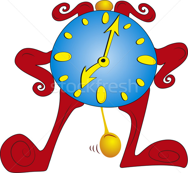 Clock vector Stock photo © Suljo