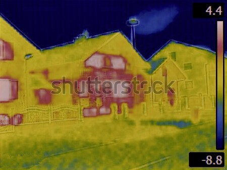 House Facade Infrared Image Stock photo © Suljo