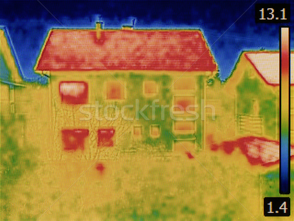 Stock photo: House Thermal Image