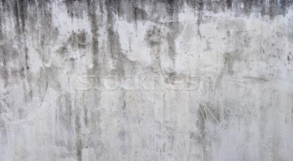 Intemperie bianco muro facciata architettura Foto d'archivio © Suljo
