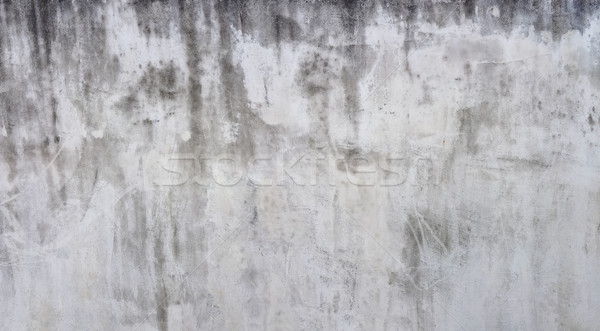 Patiné blanche mur façade architecture Photo stock © Suljo