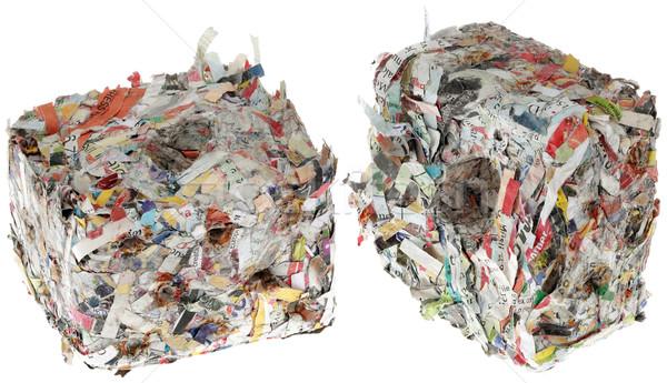 Топливные брикеты из бумаги