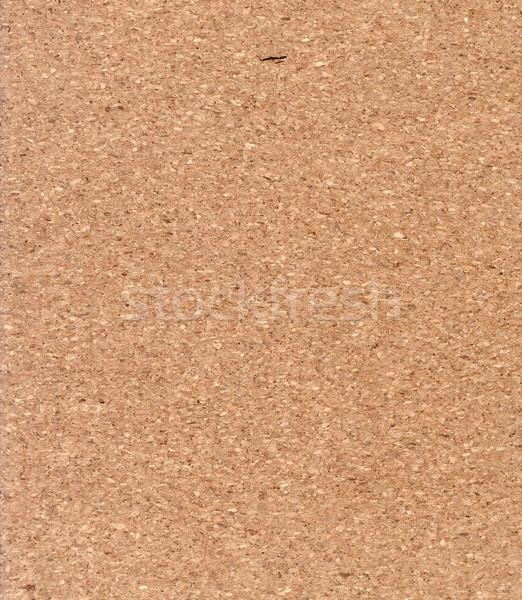 Kork leer Kork Bord Muster Material natürlichen Stock foto © Suljo
