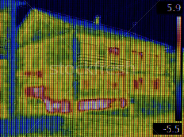 Facade Infrared Leak Stock photo © Suljo