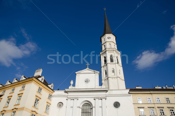 Barok kilise stil Stok fotoğraf © sundaemorning