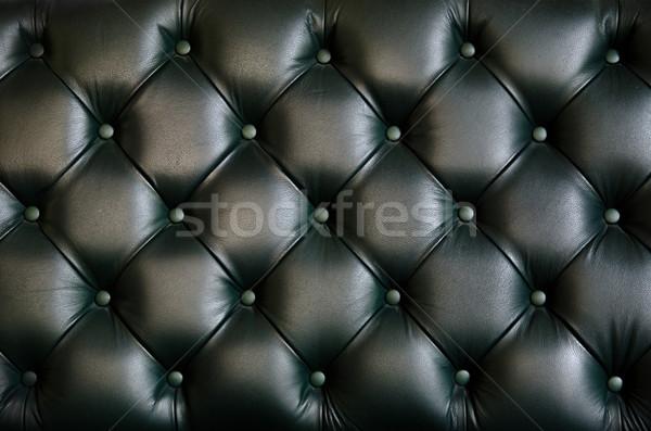 Deri doku sandalye geri gri renk Stok fotoğraf © sundaemorning
